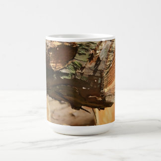 木はマグを記録します コーヒーマグカップ