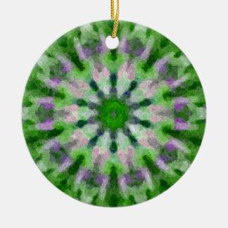 木はk-014cを飾ります 陶器製丸型オーナメント