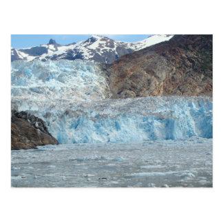 木びきの氷河アラスカ ポストカード
