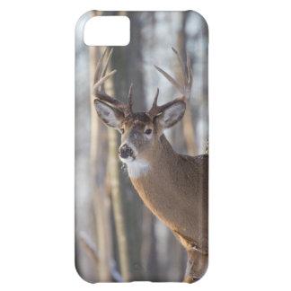 木びき台のオジロ鹿シカ iPhone5Cケース