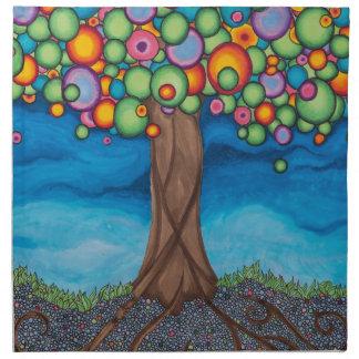 木を夢を見ること ナプキンクロス