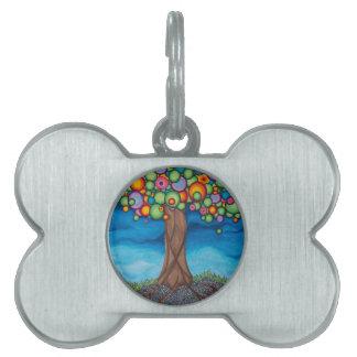 木を夢を見ること ペットネームタグ