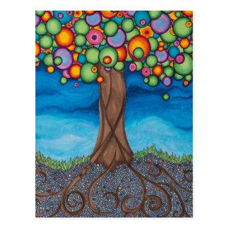 木を夢を見ること ポストカード