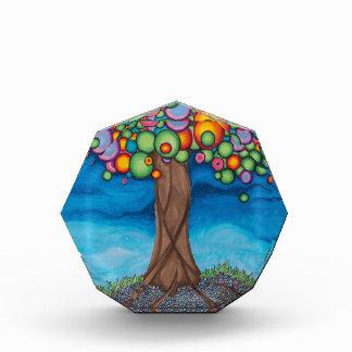 木を夢を見ること 表彰盾