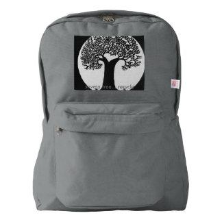 木を救って下さい AMERICAN APPAREL™バックパック