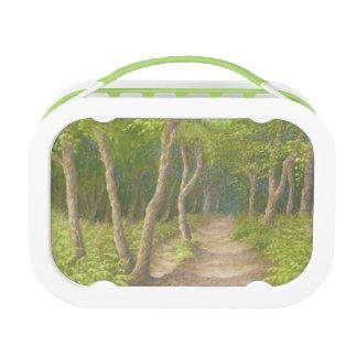 木を通した道、Leithの丘のYuboのランチボックス ランチボックス