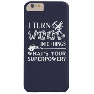 木工業 BARELY THERE iPhone 6 PLUS ケース