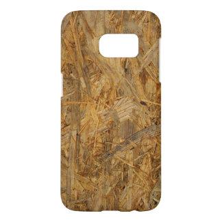 木板の質感 SAMSUNG GALAXY S7 ケース