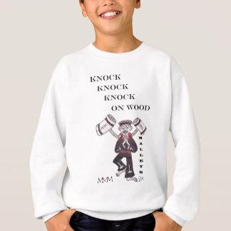 木槌-木のノックのノックのノック スウェットシャツ