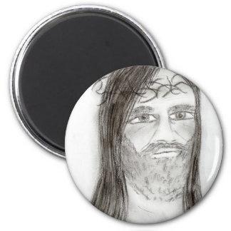 木炭のイエス・キリスト マグネット
