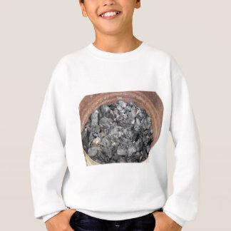 木炭のバケツ スウェットシャツ