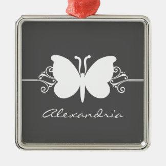 木炭蝶は優れたオーナメント渦巻きます メタルオーナメント