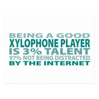木琴プレーヤー3%の才能 ポストカード
