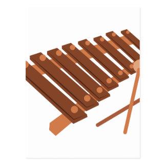 木琴 ポストカード