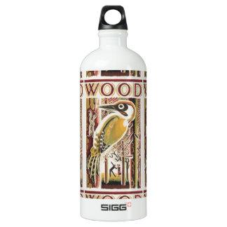 木製のキツツキDeco ウォーターボトル