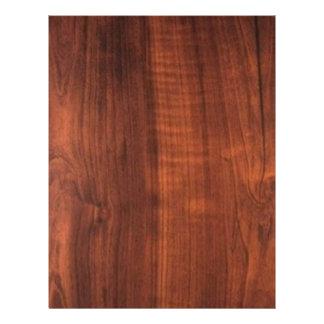 木製のクルミの終わりの買物のブランクBlanc Blanche + 文字 レターヘッド
