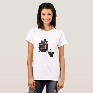 木製のストーブ Tシャツ