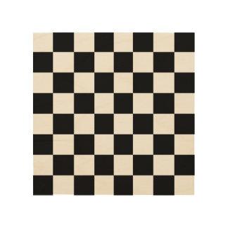 """木製のチェスまたはレジ係板8""""で8つ ウッドウォールアート"""