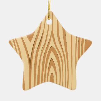 木製のデザインの抽象美術 セラミックオーナメント