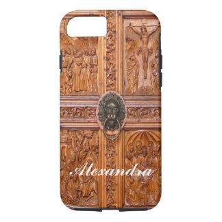 木製のドア iPhone 8/7ケース