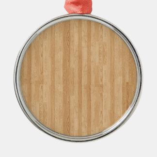 木製のパネル メタルオーナメント