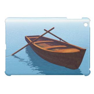 木製のボート- 3Dは描写します iPad MINI カバー