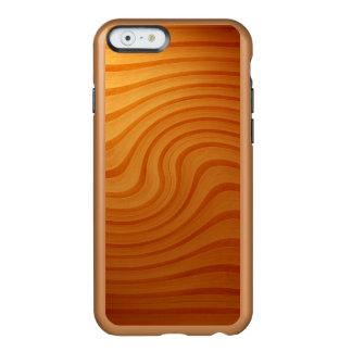 木製のマツ渦巻のiPhone 6/6S Incipioの輝やきの場合 Incipio Feather Shine iPhone 6ケース