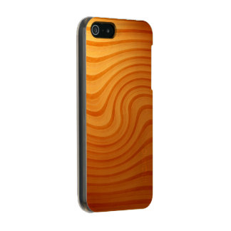 木製のマツ渦巻のiPhone SE/5/5S Incipioの輝やきの場合 メタリックiPhone SE/5/5sケース