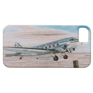 木製のヴィンテージの航空飛行機の飛行機旅行 iPhone 5 CASE