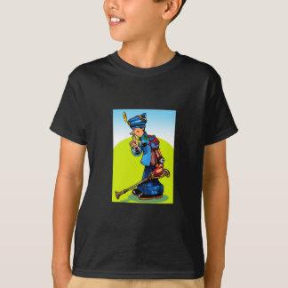 木製の兵士(おもちゃのキャラクター) Tシャツ