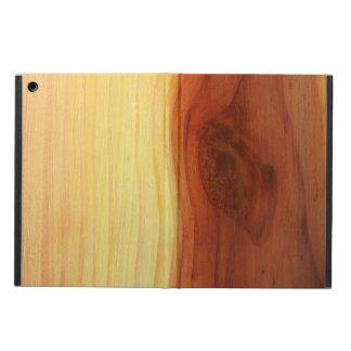 木製の写真 iPad AIRケース