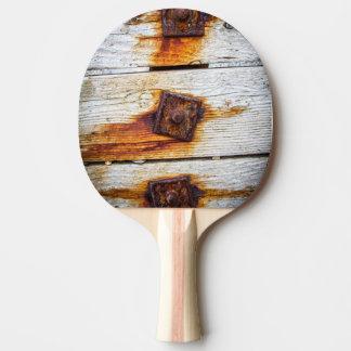木製の卓球のこうもりまたはかいの錆 卓球ラケット
