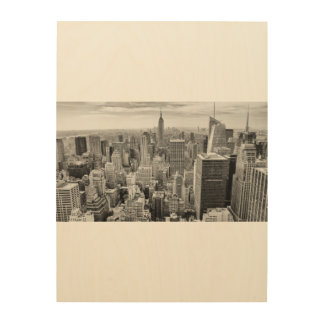木製の壁の芸術NYCマンハッタンニューヨークシティ ウッドウォールアート