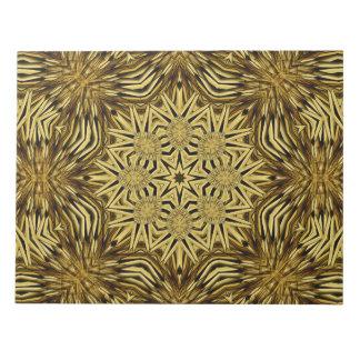 木製の技術の曼荼羅 ノートパッド