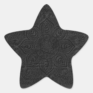 木製の曼荼羅 星シール