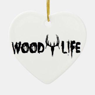 木製の生命 セラミックオーナメント