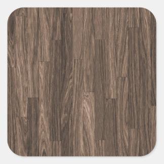 木製の穀物のプリント、木製の穀物パターン、木製のデザイン スクエアシール