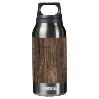木製の穀物のプリント、木製の穀物パターン、木製のデザイン 断熱ウォーターボトル