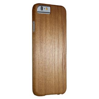 木製の穀物の質 BARELY THERE iPhone 6 ケース