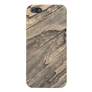 木製の穀物のiPhoneの場合 iPhone 5 ケース
