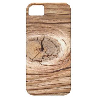 木製の穀物のKnotholeのiPhoneの場合 iPhone SE/5/5s ケース