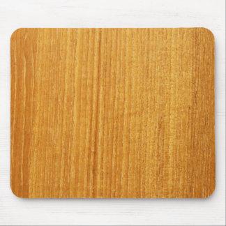 木製の穀物パターン マウスパッド