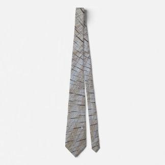 木製の端の穀物 オリジナルネクタイ