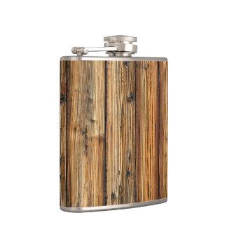 木製の納屋のフラスコ フラスク
