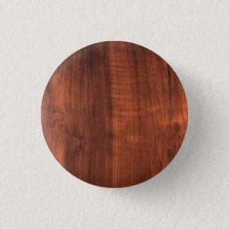 木製の終わりパターン木のOakwoodのTeakwood 缶バッジ