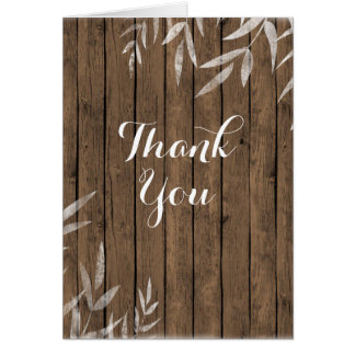 木製の背景の国の素朴なヤナギは感謝していしています カード