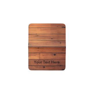木製の衣裳のデザインカード財布 名刺入れ