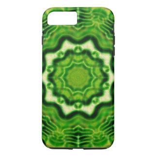 木製の要素のkaleidoパターン iPhone 8 plus/7 plusケース