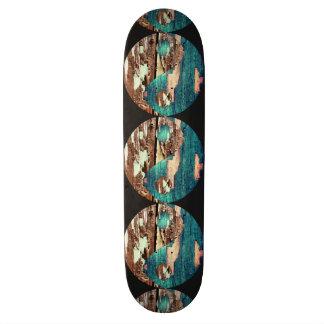 木製の質の陰陽のスケートボード スケートボード