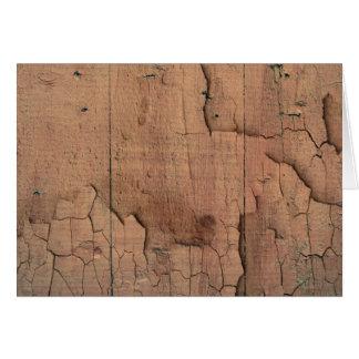 木製の質 カード